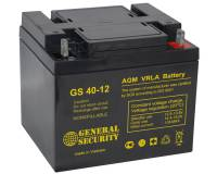 Аккумулятор 12v 40Ah   General Security GS 40-12