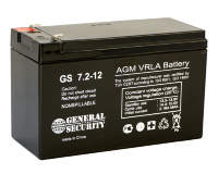 аккумулятор 7ah 12v  General Security GS 7.2-12